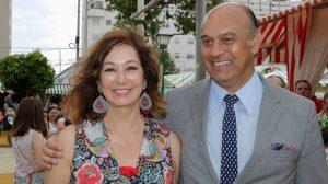 Ana Rosa y su marido, Juan Muñoz /SA