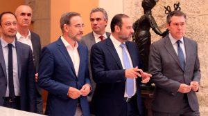 Reunión a tres bandas entre Ayuntamiento, Junta y Estado por el metro /SA