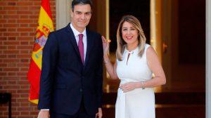 Pedro Sánchez recibe a Susana Díaz en la Moncloa /@JuntaAndalucia