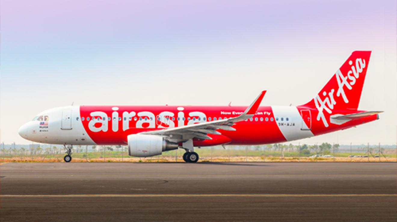 Avión de AirAsia /AirAsia