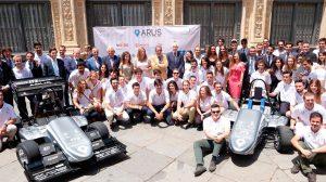 Los nuevos monoplazas de ARUS Andalucía / Universidad de Sevilla