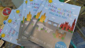 Mapa turístico para familias de Sevilla con los Peques /Sevilla con los Peques