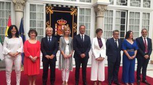 toma de posesión de los subdelegados de Gobierno andaluces /SA