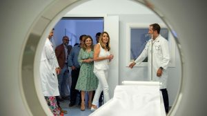 Susana Díaz en el nuevo Hospital de La Línea /Junta