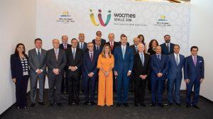 Inauguración del Wocmes /Junta