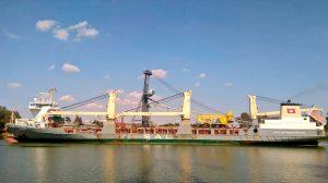 La nueva grúa operará en el Muelle Norte /Puerto de Sevilla