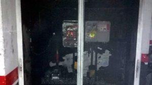 Incendio en un garaje de Triana /@EmergenciasSev