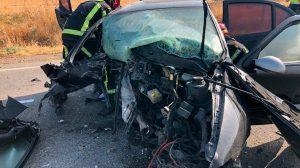 Accidente Gerena /@061informa