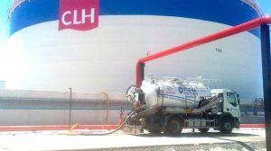 Tanques de CHL en Arahal /SA