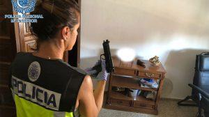 Policía nacional secuestro Dos Hermanas /Policía Nacional