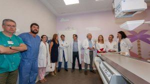 Visita a la nueva unidad de telemando /Hospital Virgen del Rocío