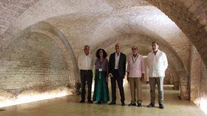 Presentación semisótano Pedro I /Ayto. Sevilla