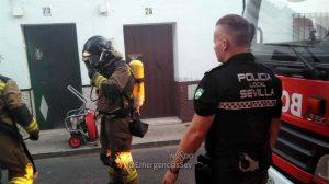 Incendio de Bellavista /@EmergenciasSev