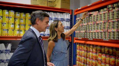 Inauguración del nuevo local de asistencia social de La Macarena /@elmunidor