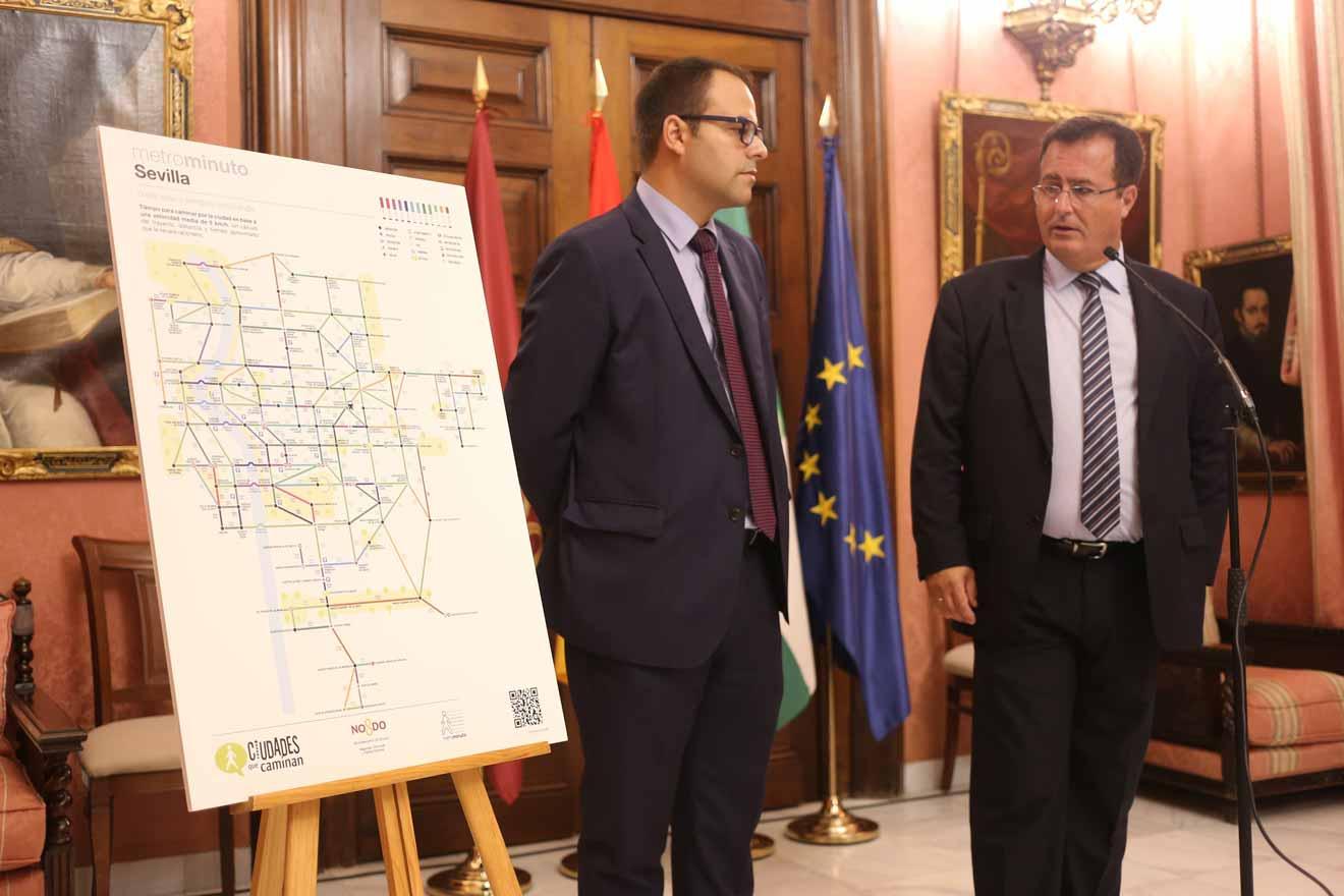 Presentación de MetroMinuto /Ayto. Sevilla