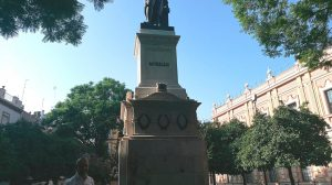 Estatua de Murillorecién restaurada /Ayto. Sevilla