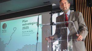 Manuel Gracia, presidente de la APS /Puerto de Sevilla