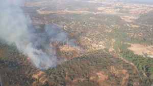 Nuevo incendio en El Ronquillo /@Plan_INFOCA