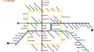 Propuesta conexión Línea 1 de Metro /'sevillasemueve'