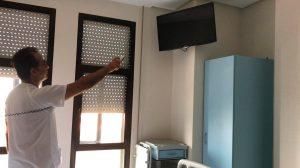 Televisión gratuita en hospitales / Junta