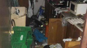 Estado en el que la Policía Local se encontró una de las casas /Ayto. Alcalá