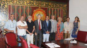 Miembros del Foro para la Defensa del Árbol /Universidad de Sevilla