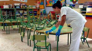 Limpieza de colegios /SA