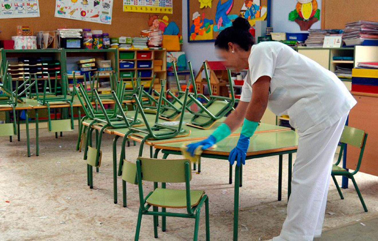 Un aula de un colegio de Sevilla / Archivo SA