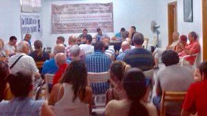 Reunión plataforma vecinal /SA