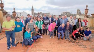 Presentación del derbi / Ayuntamiento de Sevilla