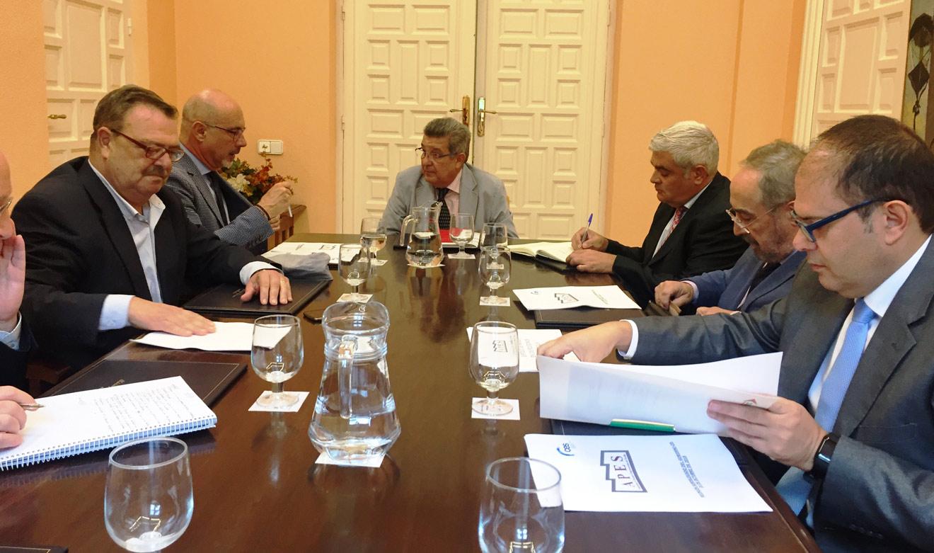 Reunión acontecida / Ayuntamiento de Sevilla