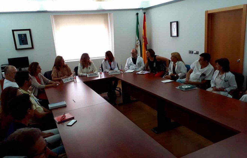 Reunión acontecida en el hospital / Junta de Andalucía
