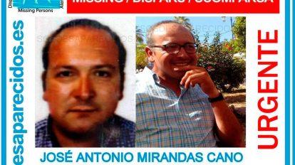 Aviso Guardia Civil del vecino desaparecido en Lebrija /GC