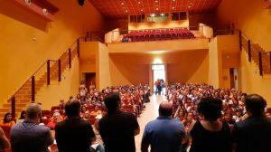 Trabajadores reunidos en asamblea /Cedida