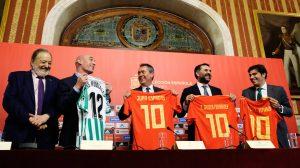 Presentación oficial del partido / Ayuntamiento de Sevilla