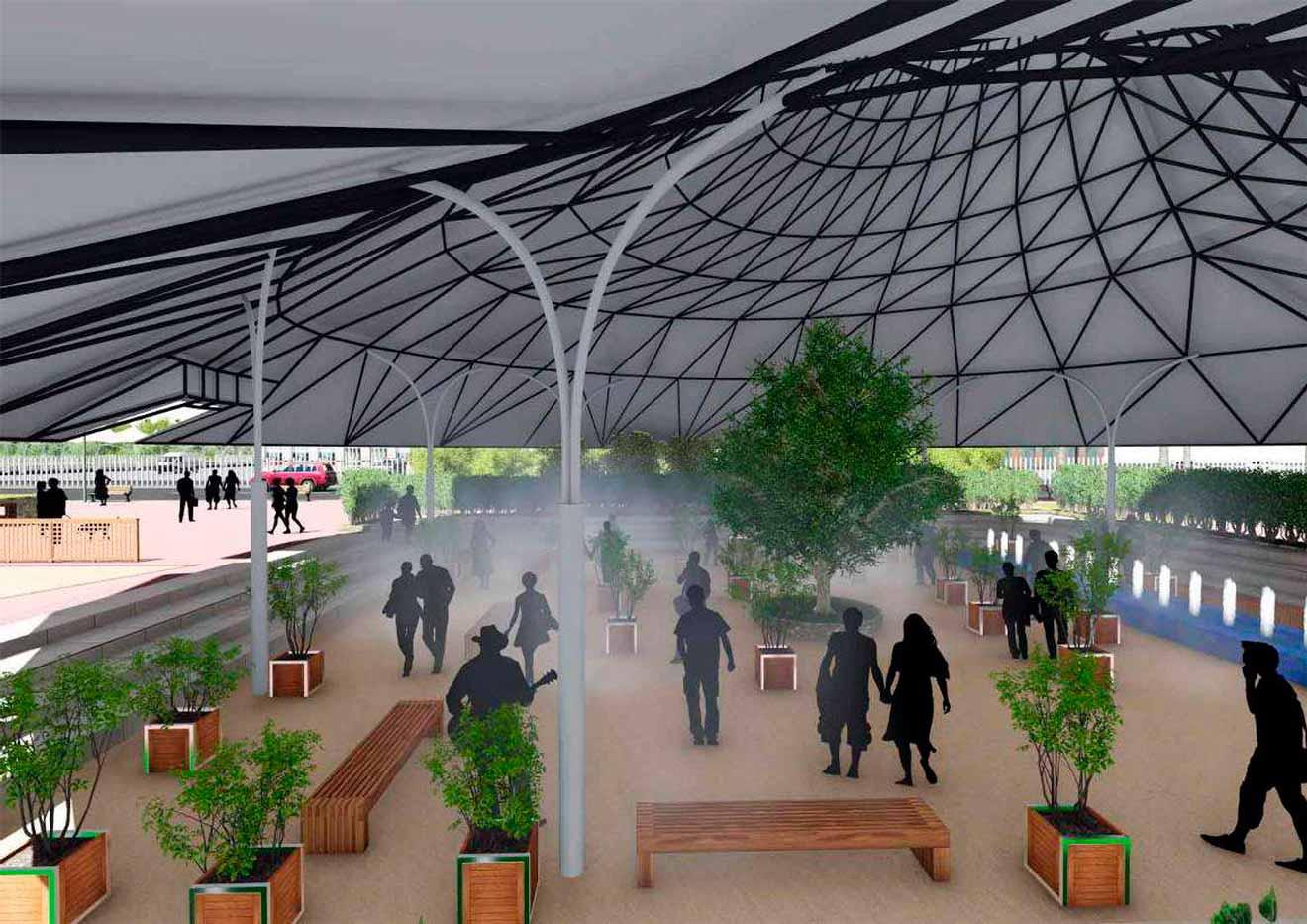 Proyecto de bioclimatización en la Cartuja /Universidad de Sevilla