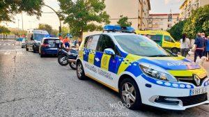 Crimen mujer en Los Pajaritos /@EmergenciasSev