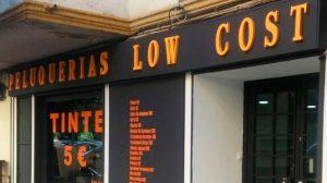 Una de las peluquerías de la cadena Low Ciost /SA