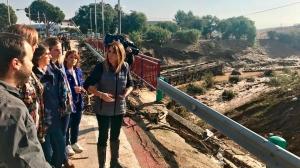 Susana Díaz visita las zonas afectadas de la Sierra Sur y de la Campiña sevillana /@susanadiaz