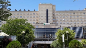Fachada del hospital Valme