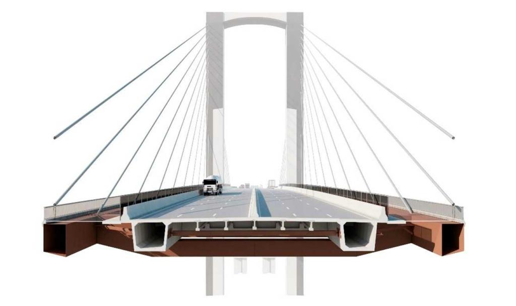 Así se ampliará el puente atirantado del Centenario enSevilla